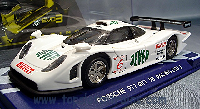 flyslot porsche 911 gt1 racing fly slot cars 07050 topslots n trains. Black Bedroom Furniture Sets. Home Design Ideas
