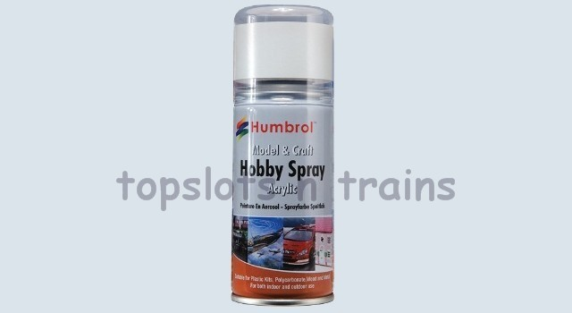 HUMBROL 191 CHROME SILVER METALLIC SPRAY PAINT at TopSlots n